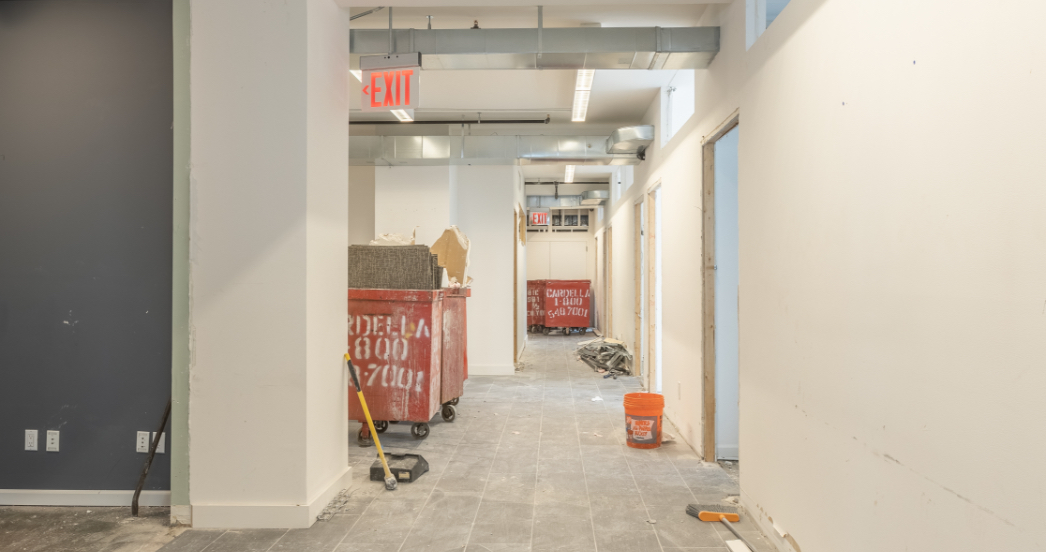 New psychotherapy office being built